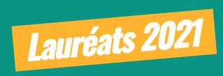 Lauréats 2021